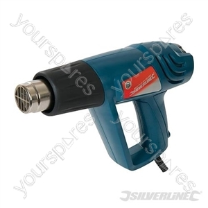 Silverstorm Hot Air Gun Adjustable 2000W - 600°C