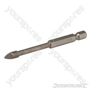 Tile & Glass Drill Bit Hex Shank - 6mm