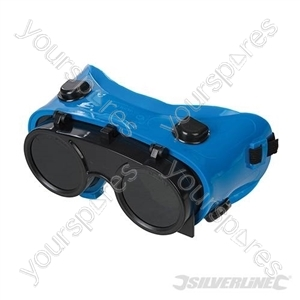 Welding Goggles - Clear / No. 5 Green