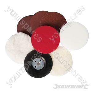 Sanding & Polishing Kit 8pce - 115mm