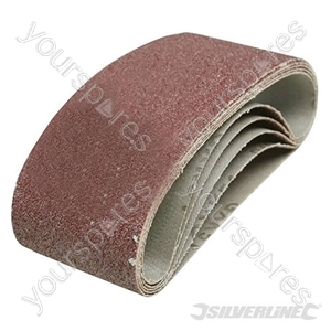 Sanding Belts 75 x 457mm 5pk - 40 Grit