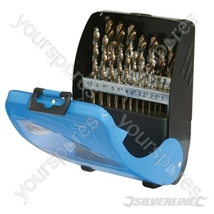 Cobalt Drill Bit Set 19pce - 1 - 10mm