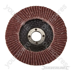 Aluminium Oxide Flap Disc - 100mm 60 Grit