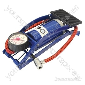 Foot Pump Single Barrel - 220cc