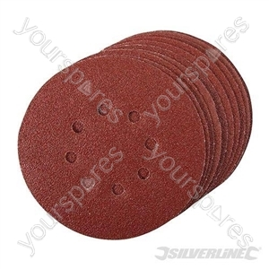 Hook & Loop Discs Punched 150mm 10pk - 60 Grit