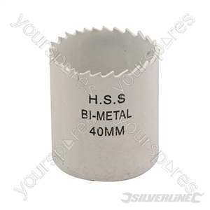 Bi-Metal Holesaw - 40mm