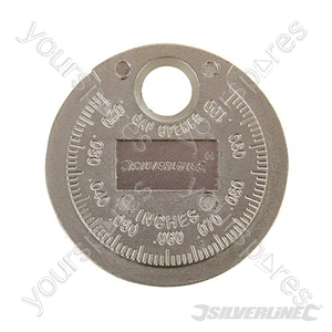 "Spark Plug Gap Tool - 0.5 - 2.55mm / 0.02 - 0.1"""