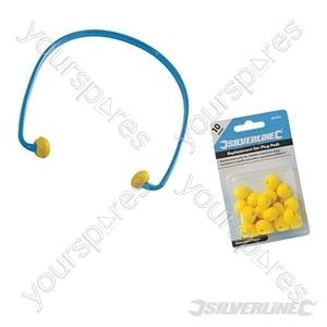 U-Band Ear Plugs SNR 21dB - SNR 21dB