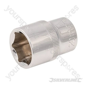 "Socket 1/2"" Drive 6pt Metric - 20mm"