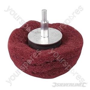 Dome Sanding Mop - 100mm 240 Grit