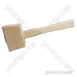 Wooden Mallet - 115mm Face