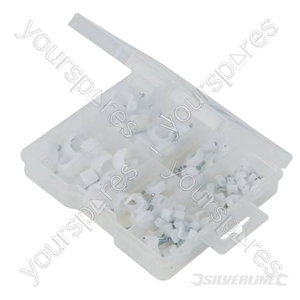 Cable Clips Pack - 86pce