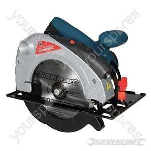 Silverstorm 1400W Circular Saw with Laser Guide 185mm - 185mm