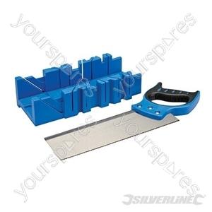 Expert Mitre Box & Saw - 300 x 90mm