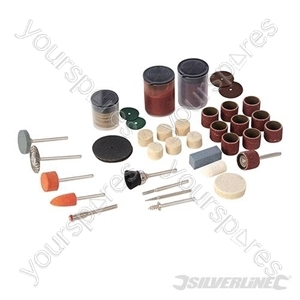 Rotary Tool Accessory Kit 105pce - 3.17mm Mandrel