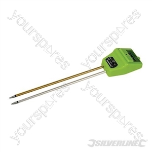 3-in-1 Soil Tester - 210mm