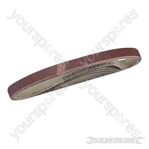 Sanding Belts 10 x 330mm 5pk - 60 Grit
