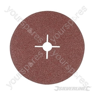 Fibre Discs 180 x 22.23mm 10pk - 36 Grit
