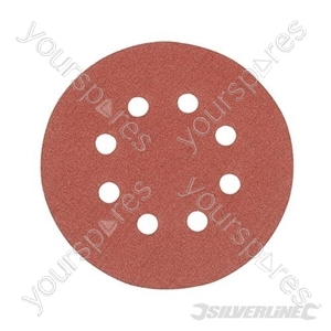 Hook & Loop Discs Punched 125mm 10pk - 120 Grit