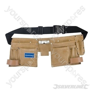 Double Pouch Tool Belt 11 Pocket - 300 x 200mm