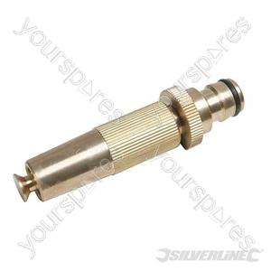 """Spray Nozzle Brass - 1/2"""" Male"""