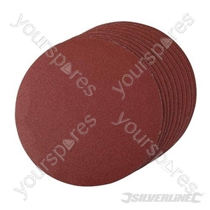 Hook & Loop Discs 180mm 10pk - 180mm 120 Grit
