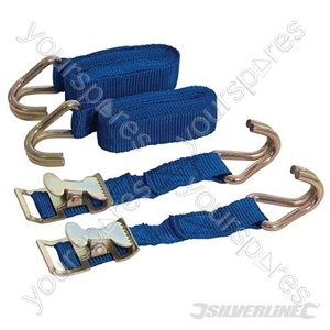 Easy-Lock Straps 2pk - 2m x 25mm