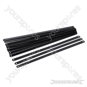 Carbon Steel Hacksaw Blade 24pk - 300mm 24tpi