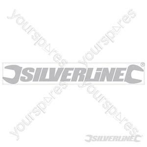 Window Stickers - 400mm Silver - Outside