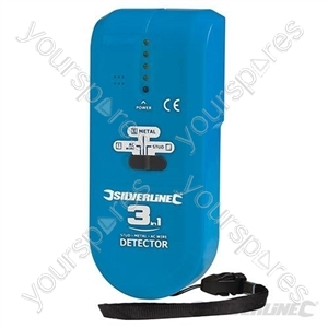 3-in-1 Detector Compact - 1 x 9V (PP3)