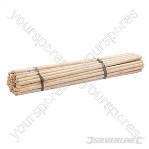 "Broom Handles - 4 x 1-1/8"" Dia 50pce"