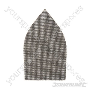Hook & Loop Mesh Triangle Sheets 175 x 105mm 10pk - 180 Grit