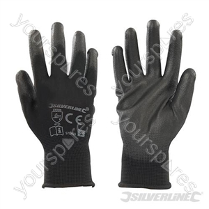Black Palm Gloves - Small