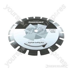 Asphalt Cutting Diamond Blade - 300 x 20mm Segmented Rim