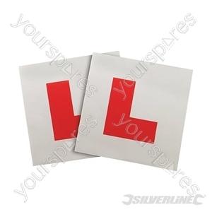 Magnetic 'L' Plates 2pce - 2pce