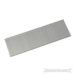 Galvanised Smooth Shank Nails 18 Gauge 5000pk - 38 x 1.25 x 18Gauge