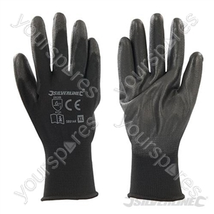 Black Palm Gloves - X-Large