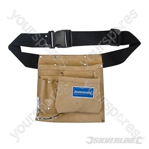 Nail & Tool Pouch Belt 5 Pocket - 220 x 220mm