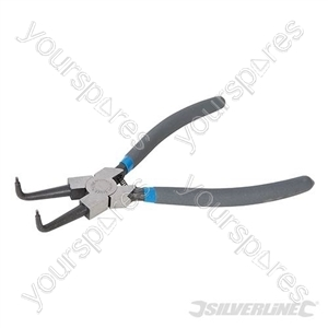 Bent Nose Internal Circlip Pliers - 230mm