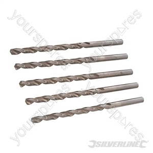 Metric HSS-R Long Series Bits 5pk - 6.0 x 139mm