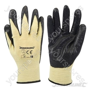 Kevlar Mix Nitrile Gloves - Large