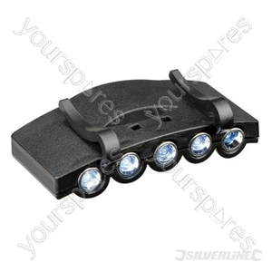LED Cap Light - 5 LED