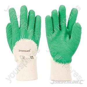 ¾ Crinkle Coat Gloves - Large