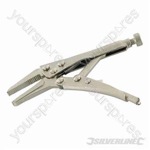 Self Locking Long Nose Pliers - 125mm