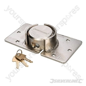 Heavy Duty Van Lock & Hasp - 73mm
