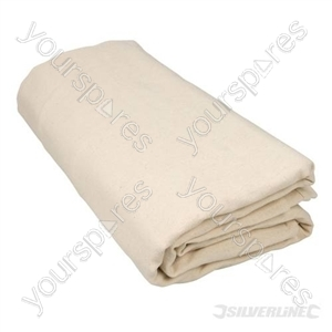 Bolton Twill Dust Sheet - 3.6 x 2.7m (12 x 9) Approx