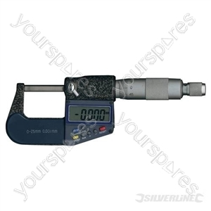 External Digital  Micrometer - 25mm
