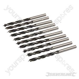 Lip & Spur Drill Bits - 5mm 10pk