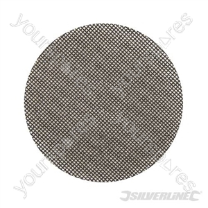 Hook & Loop Mesh Discs 125mm 10pk - 80 Grit