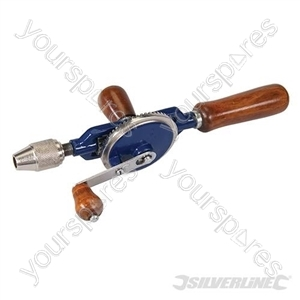 Double Pinion Hand Drill - 290mm